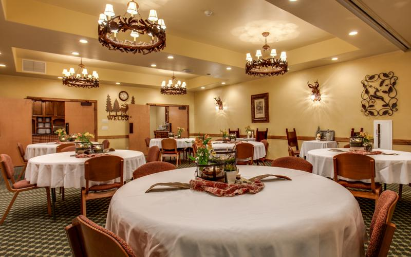 The Bavarian Lodge in Leavenworth Washington has great meeting spaces for any event